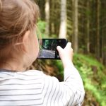 Photographing nature with phone