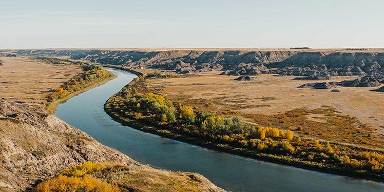 Red Deer River - R Wilkes